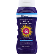 Equaline Sunscreen Lotion, Broad Spectrum SPF 50