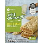 Southeastern Grocers Cereal Bars, Fruit & Grain, Apple Cinnamon