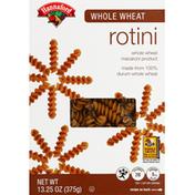 Hannaford Rotini, Whole Wheat