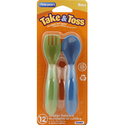 The First Years Toddler Flatware, 9m+