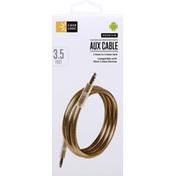 Case Logic Aux Cable, Premium, 3.5 Feet