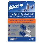 Mack's  Flightguard Airplane Pressure Relief Ear Plugs