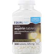 Equaline Aspirin, 325 mg, Tablets, for Adults