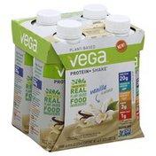 Vega Protein+ Shake, Plant-Based, Vanilla Flavored