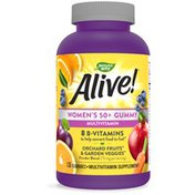 Nature's Way Alive!® Women's 50+ Gummy Multivitamin
