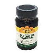 Country Life Natural Activated Charcoal 260 Mg (4 Gr.) Dietary Supplement