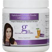 Colageina Hydrolyzed Collagen Powder, with Vitamin C, Orange Flavor