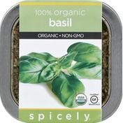 Spicely Organics Basil, Organic