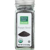 Pacific Coast Organic Poppy Seed