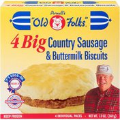Purnell's Old Folks Big Country Big Country Sausage & Buttermilk Biscuits