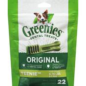 GREENIES Original Teenie Daily Dental Treats for Dogs