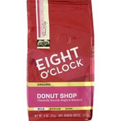 Eight O'Clock Coffee Coffee, Ground, Mild, Donut Shop
