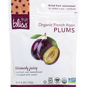 Fruit Bliss Plums, Organic French Agen