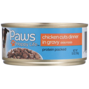 Paws Happy Life Chicken Cuts Dinner In Gravy Dog Food