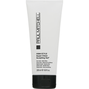 Paul Mitchell Sculpting Gel, Super Clean, Firm Style
