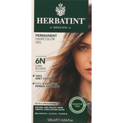 Herbatint Haircolor Gel, Permanent, Dark Blonde 6N