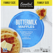 Essential Everyday Waffles, Buttermilk, Family Size