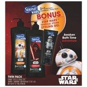 Suave Shampoo & Conditioner Gift Pack + Bonus Gel
