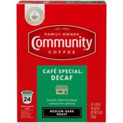Community Coffee Café Special® Decaf Coffee Pods for Keurig K-cups