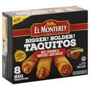 El Monterey Bigger Bolder Chicken, & Monterey Jack Cheese Taquitos