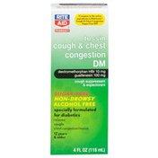 Rite Aid Pharmacy Tussin Sugar Free Cough DM, 4 fl oz (118 ml)