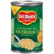 Del Monte Sweet Bavarian Style with Caraway Seeds Sauerkraut