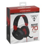 Turtle Beach Headset, Gaming, Wired, Recon 70