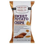 Creative Snacks Co. Sweet Potato Chips, with Maple Honey