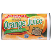Stater Bros. Markets 100% Country Style Orange Juice Frozen Concentrate