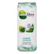 Coco Libre Organic Sparkling Coconut Water Coastal Coconut