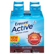 Ensure Active High Protein Milk Chocolate Nutrition Shake