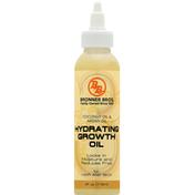 Bronner Bros Growth Oil, Hydrating, Coconut Oil & Argan Oil