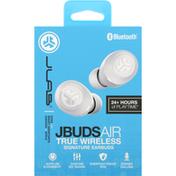 JLab Audio Jbuds Air True Wireless Earbuds - White