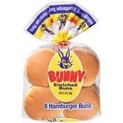 Bunny Bread Enriched Hamburger Buns
