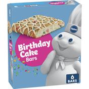 Pillsbury Birthday Cake Bars, 6 Count