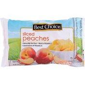 Best Choice Sliced Peaches