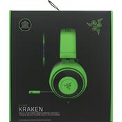 Razer Gaming Headset, Kraken, Green