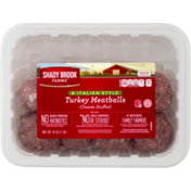 Shady Brook Farms Turkey Meatballs, Cheese Stuffed, 8 Italian Style