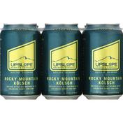 Upslope Brewing Company Beer, Kolsch, Rocky Mountain