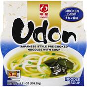 Myojo Noodle Soup, Udon, Chicken Flavor, Japanese Style