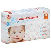 The Honest Company Diapers, Size 3 (16-28 Pounds), Pastel Tribal