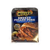 Curly's Smoked Pulled Pork Barbecue