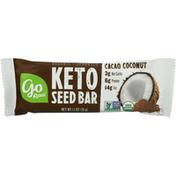Go Raw Keto Seed Bar, Cacao Coconut