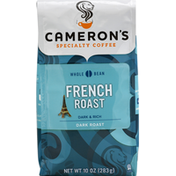 Camerons Coffee, Whole Bean, Dark Roast, French Roast