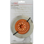Chef Select Sink Stopper, Card