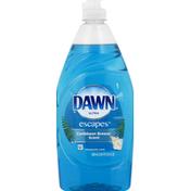 Dawn Escapes Dishwashing Liquid Dish Soap, Caribbean Breeze, Dish Care