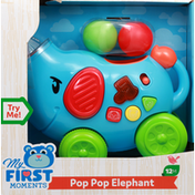 My First Moments Pop Pop Elephant, 12 Months