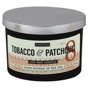 Paddywax Candle, Soy Wax, Tobacco & Patchouli