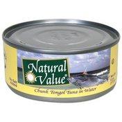Natural Value Chunk Tongol Tuna in Water
