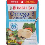 Bumble Bee Tuna with Omega-3 Tuna Oil, Albacore, Single-Serve